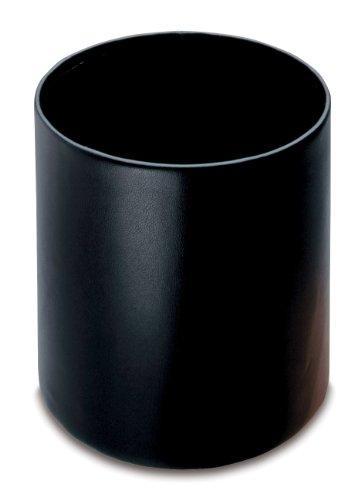 laufer-36436-ambiente-scala-papierkorb-durchmesser-26-x-30-cm-aus-echtem-leder-schwarz