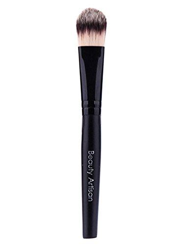 NiSeng Brosses de Maquillage Cosmétique Pinceau Fond de Teint Noir
