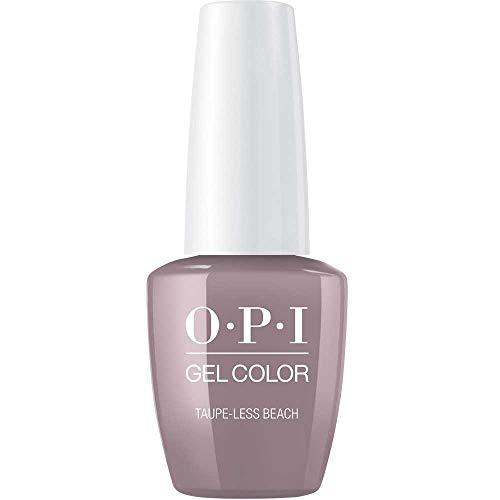 OPI gelcolor Nagellack,taupe-less beach, 1er Pack (1 x 15 ml) - Opi Nagellack Grau Gel