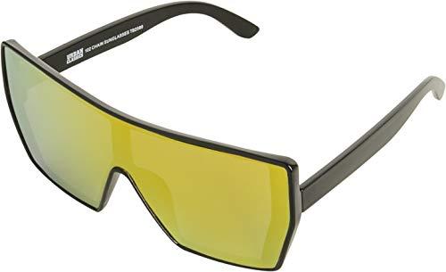 Urban Classics Damen / Herren Sonnenbrille 102 Unisex Chain Sunglasses mit Brillen-Kette für Erwachsene
