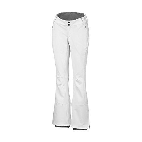Columbia Womens Ski Pants (Columbia Damen Ski-Hosen Ski-Hosen Roffe Ridge, Gr. 36 (Herstellergröße: 4), Weiß)