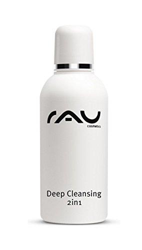 RAU Deep Cleansing 2in1 75 ml - Nettoyant visage en profondeur. Lotion tonique nettoyante visage, eau démaquillante. Ce soin visage tonifiant nourrissant a également un effet antibactérien, anti-inflammatoire, apaisant et astringent