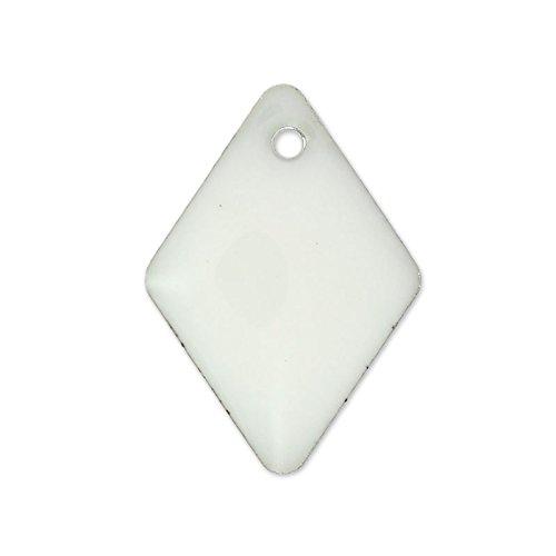 rombi-in-smalto-epossidico-15-mm-bianco-x8