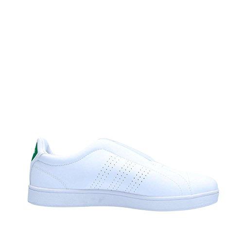 adidas Advantage Adapt W, Scarpe da Fitness Donna Bianco (Ftwr White/Ftwr White/Bold Green)