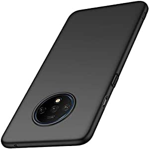 Valueactive Case for OnePlus 7T Back Case Cover Slim Flexible Soft Back Cases and Covers for OnePlus 7T (Matte Black) [ Launch Offer ] (Black)