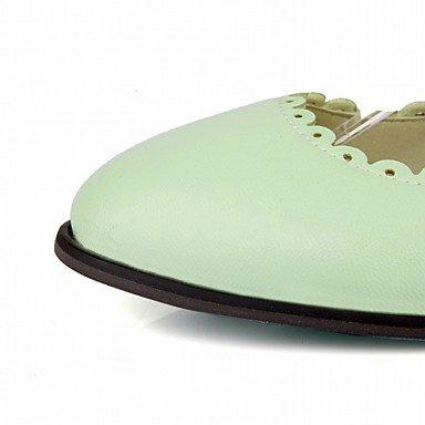 Confortevole ed elegante piatto scarpe donna Appartamenti Primavera / Estate Autunno / Piattaforma / Comfort / Novità in pelle di Brevetto / LeatheretteWedding / Ufficio & Carriera / Party & Sera beige