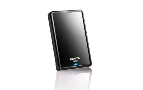 ADATA AHV620-1TU3-CBK DashDrive HV620 externe Festplatte 1TB (6,4 cm (2,5 Zoll), USB 3.0) schwarz