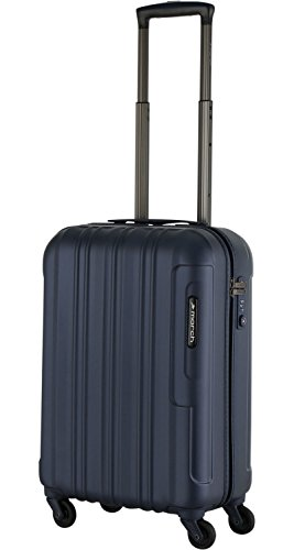 March 15 trading cosmopolitan handgepäcktrolley 4 roues 55 cm, Bleu marine (Bleu) - 500052-14