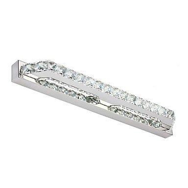 piteng- 14W 56cm linéaire cristal miroir de salle de bain lumière LED Lampes 85–265V AC, 90–240V