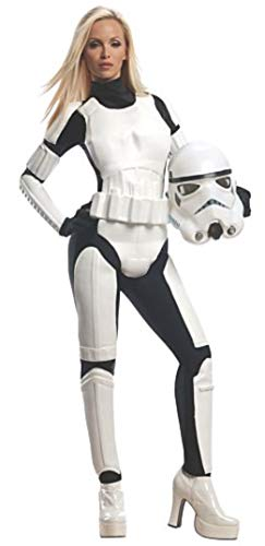 Women's Kostüm Star Wars - Rubie 's Offizielles Star-Wars-Stormtrooper-Kostüm für Damen, für Erwachsene, Größe L