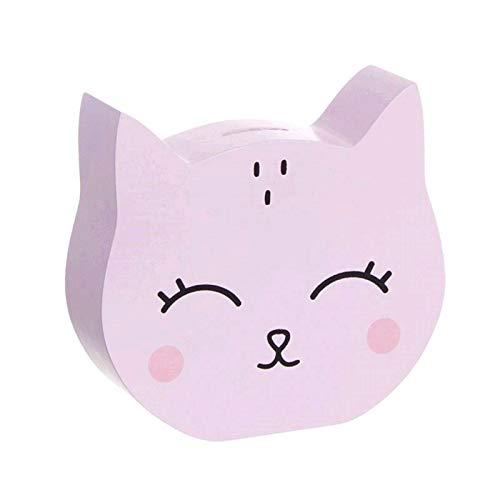 D,casa - Hucha Infantil Gato Rosa.