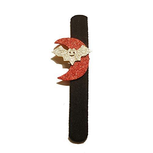 Quaan niedlich kreativ Halloween Karikatur Kürbis Klopfen Hand Ring Klatschen/Klatschen Armband Dekor Zum Kinder Tasche Party Lager Tasche Geschenk Feier Süßigkeiten Festival Dekorationen