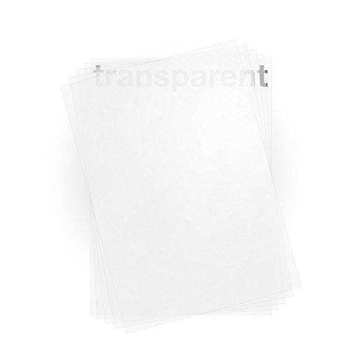 100 feuilles de papier calque A4 100g /m² qualité premium