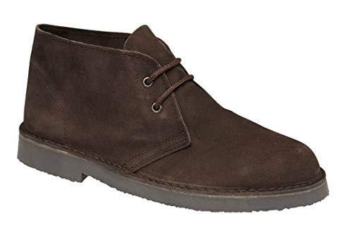 Roamer - Botas de cuero para hombre, color marrón, talla 42.5