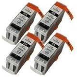 Premier Cartridges PGI5BK [ 4 x Large Blacks ] Compatible Ink Cartridge Replace For CANON Pixma iP3300, iP3500, iP4200, iP4300, iP4500, iP5100, iP5200, iP5200R, iP5300, iX4000, iX5000, MP500, MP510, MP520, MP530, MP600, MP600R, MP610, MP800, MP800R, MP810, MP830, MP950, MP960, MP970, MX700, MX850, Printer, PGI5BK,