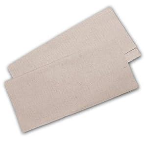 10.000 Stück Papierhandtücher Natur 25×23 cm ZZ-Falz recycling