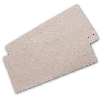 10.000 Stück Papierhandtücher Natur 25x23 cm ZZ-Falz recycling (Recycling-verpackung)