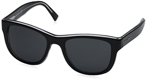 Dolce & Gabbana Herren 0DG4284 675/87 54 Sonnenbrille, Schwarz (Top Black On Crystal/Grey),