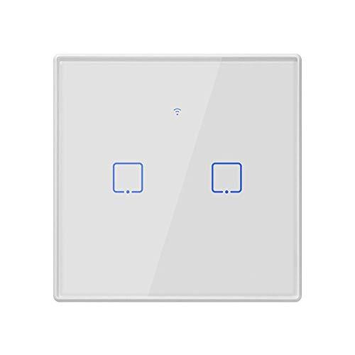 BSDK Interruptor de Pared Inteligente de WiFi, Control Remoto de Panel de...