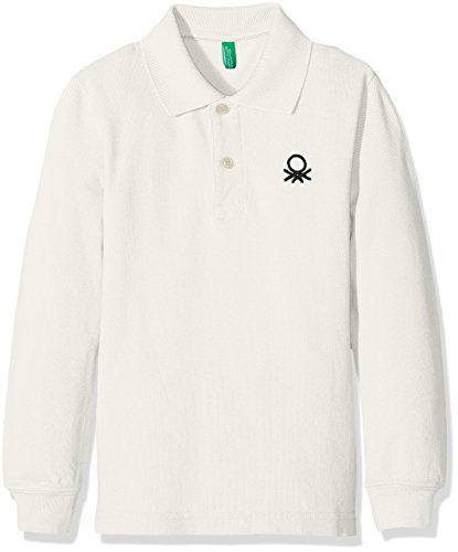 united-colors-of-benetton-3089c-polo-garcon-blanc-white-3-4-ans-taille-fabricant-xx