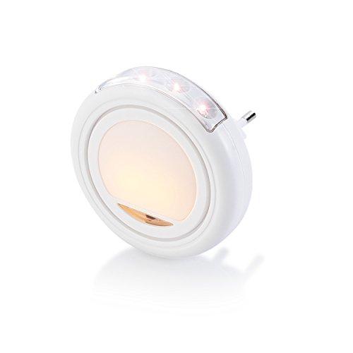 ANSMANN 5170063 Nachtlicht ENL-1 für Flur Treppenhaus LED Notlichtfunktion Taschenlampe energiesparend inkl. Dämmerungsschalter