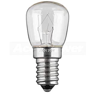 Refrigerator lamp E14, 15 Watt refrigerator lamp