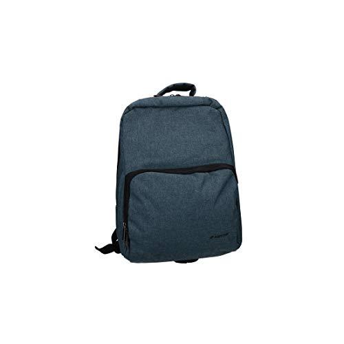 Mochila LOTTO hombre mujer bolso oficina viajes ocio VF711 - Colore azul