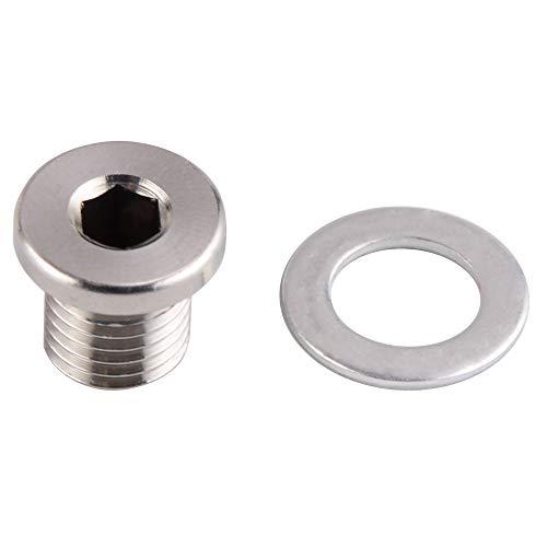 H2Racing Aluminium Boulon de vidange d'huile Moteur pour RZR 570 12-16,RZR 800 08-14,RZR 900 11-16