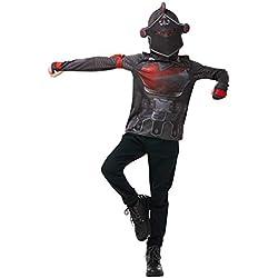 Fortnite - Disfraz camiseta Black Knight para niños, 9-10 años (Rubies 300193 9-10)
