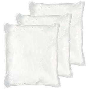 Natinos Kühlakku 660 g – kühlelement mit transparentes Kühlgel hält sehr Lange kalt – stabile PE- Folie