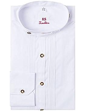 OS-Trachten Herren Trachtenhemd weiß langarm 002821