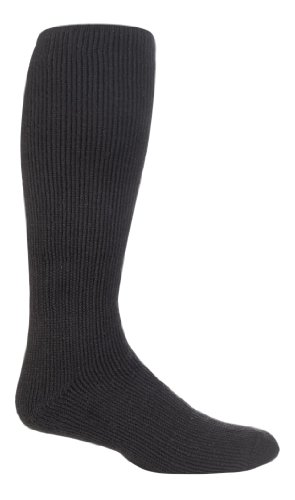 HEAT HOLDERS - Herren Knie Hoch Lang Warm Winter Thermosocken/Kniestrümpfe (39/45, Charcoal Grey) -