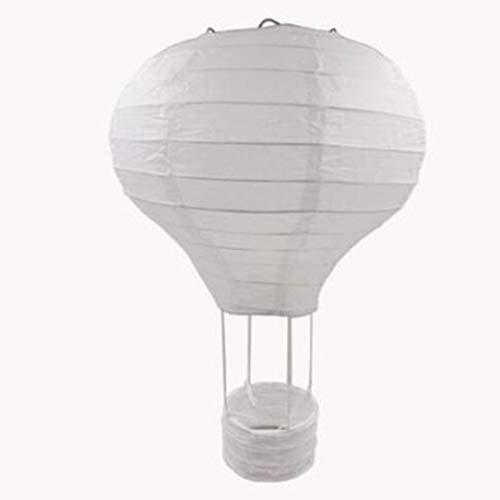 12 inch/ 16 inch Rainbow Wedding Chinese Paper Lantern Birthday Party Air Balloon Shape Lantern Photography Props (Paper Lantern Chinese)