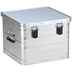 Hünersdorff de aluminio caja, 1pieza, Plata, 451000