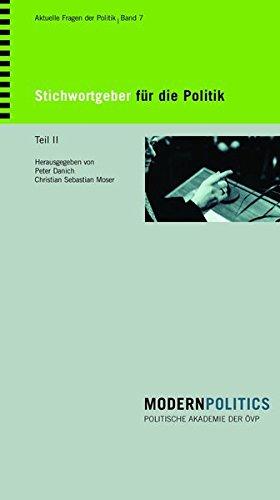 Stichwortgeber für die Politik Teil II: Johannes Messner - Norberto Bobbio - David Frum - Nicolas Gomez Davila - Francis Fukuyama - Russel Kirk - ... - Roland Baader - Carl Schmitt - Ayn Rand