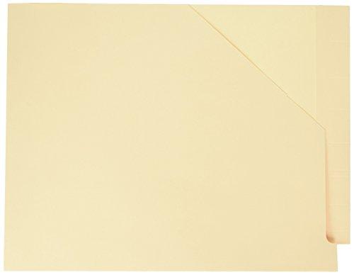 Datei-jacke End Tab (Pendaflex Expansion Regal Datei Jacken mit Aussparung Ecke, Letter Size, Manila, 50pro Box (11750))