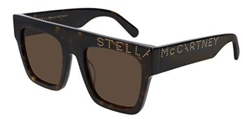 Stella mccarteny sc0170s 005 havana-havana brown sunglasses