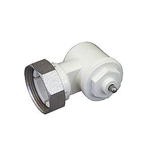 Oventrop 1011450 Winkeladapter für Ventil-HK, weiß