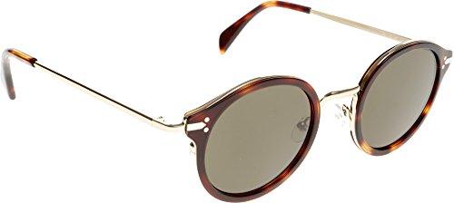 Celine 41082S 3UA Havanna 41082S Round Sunglasses Lens Category 3