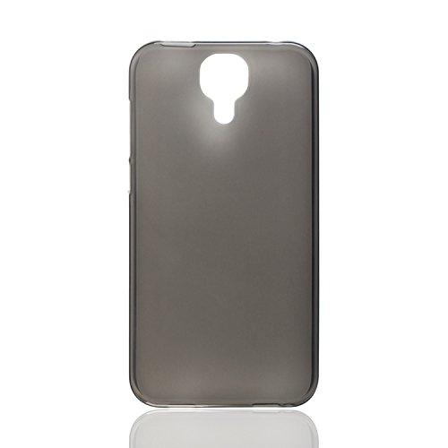 Guran® Weiche Silikon Hülle Cover für Doogee X9 Pro Smartphone Bumper Case Schutzhülle-grau