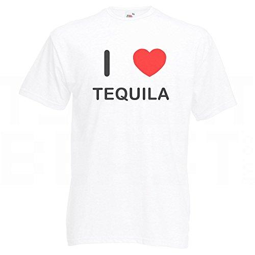 I Love Tequila - T-Shirt Weiß
