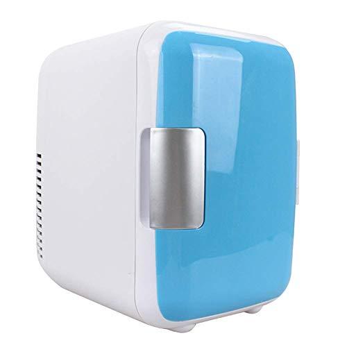 CHENXI19 Mini 4L Nevera, Calidad Alimentaria PP Duradero Portátil Maquillaje Refrigeradores Doble...