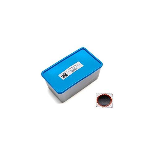 TIP-TOP - RUSTINE CHAMBRE TIP TOP COMBIBOX N°2 ROUGE RONDE DIAM 45MM (50 PIECES) (5007923)