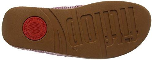FitFlop Damen Ritzy Toe-Thong Sandals Peeptoe Pink (Dusky Pink)