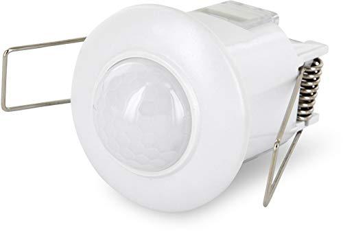 Wentronic Mini détecteur de mouvement infrarouge 360° Montage plafond LED 800 W 230 V