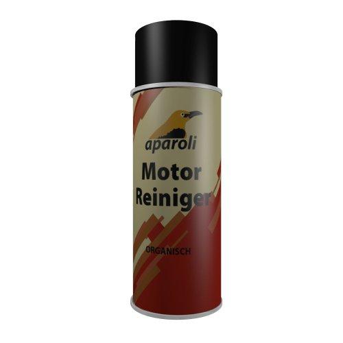 Aparoli 840806 Motor - Reiniger Organisch, 400 ml, entölt und entfettet Motorteile lackschonend