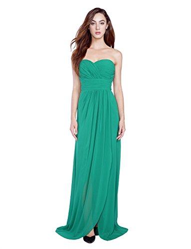Irenephil -  Vestito  - Reggiseno a fascia - Senza maniche  - Donna Malachite Green XX-Large