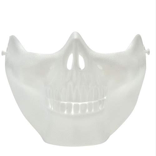 Minch Scary Maske Halloween Skull Skeleton Mask