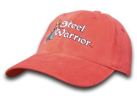 Steel Warrior Frost Cutlery Red 100% Cotton Hat Baseball Cap