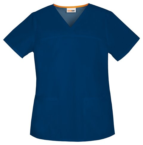 Scrub Women's v-Neck Top 7603 Start 04 (XXXL, Marine [Navy]) (Uniform Marine Frauen)